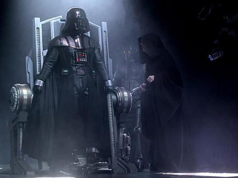"Evil Emperor: ""Only 69,000 jobs added last month?"" Darth Vader: ""NOOOOOO!  That's a dark number....even for us."""
